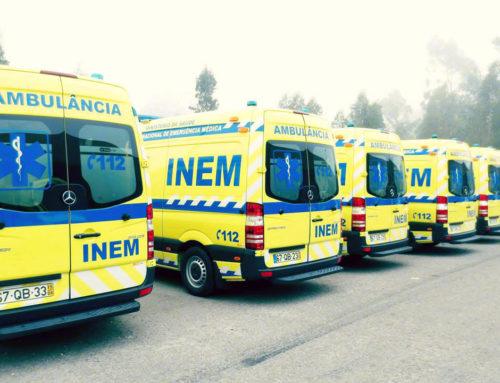 INEM – Nova ambulância para Condeixa